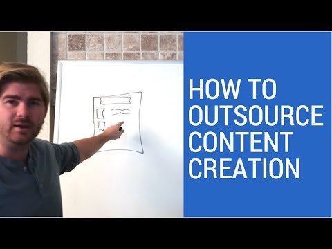 How to Outsource Content Creation (Article Writing)