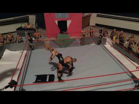 Edge Sunset Flip Randy Orton onto Chair