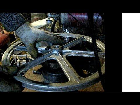 компрессор кондиционера пробую шкивы и замеряю давление
