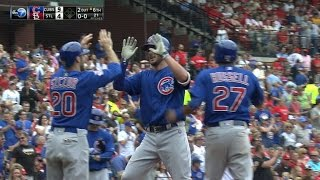 5/25/16: Six-run inning helps Cubs win barnburner
