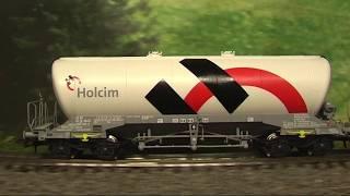 Modellbahn-Neuheiten (702)  Roco 76145 Set Silowagen