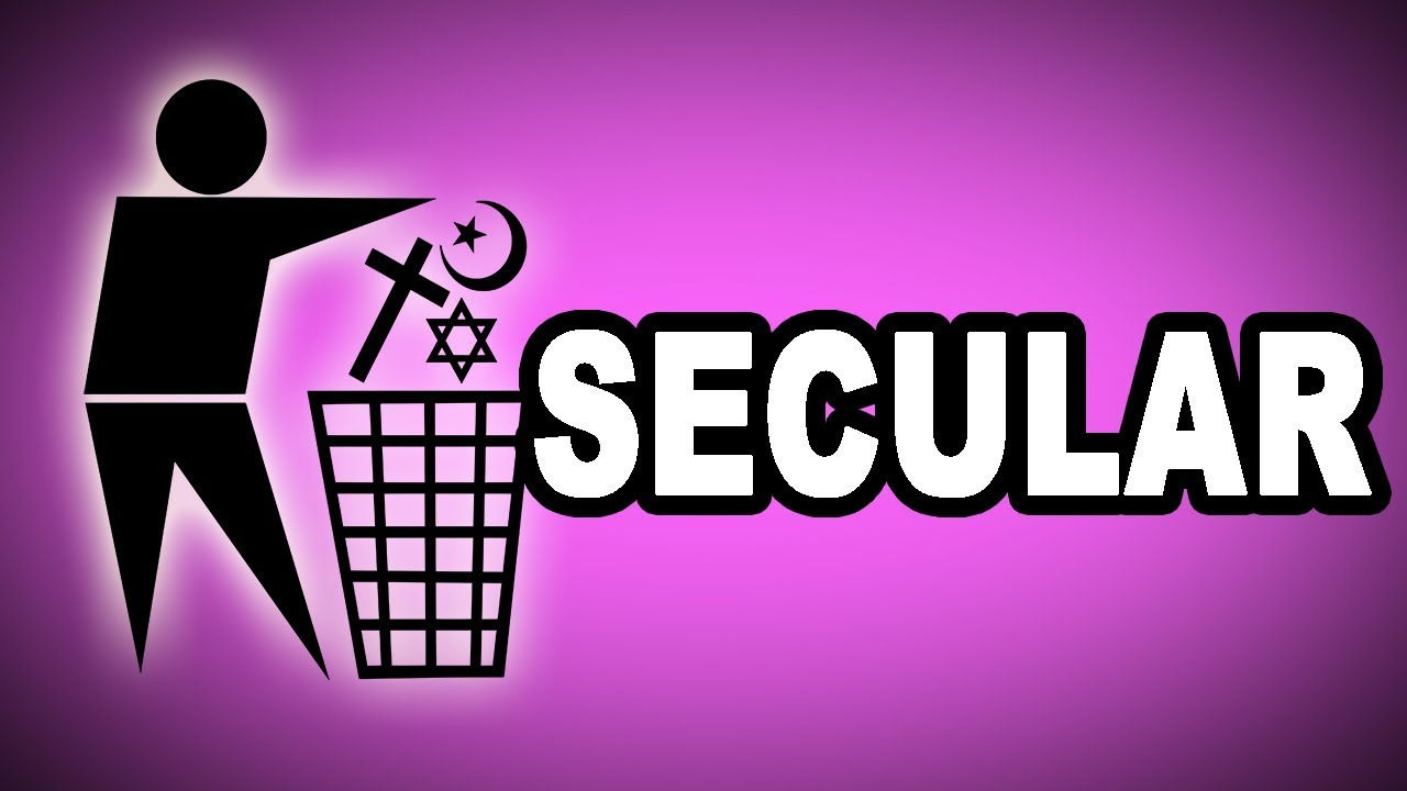 What are examples of secular societies where people are living in.