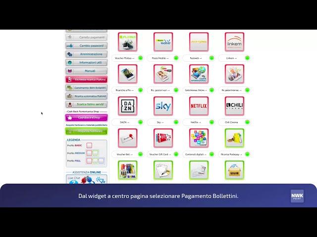 NWK point - Crea un Digital Merchant Profile - 03