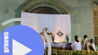 Celebração de Corpus Christi reúne multidão em Pará de Minas