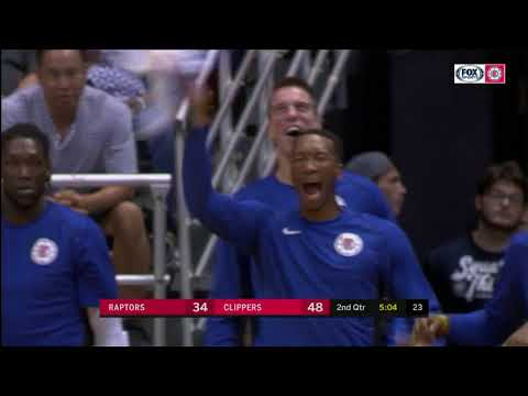 Clippers vs. Raptors Full Highlights | 10/4/17