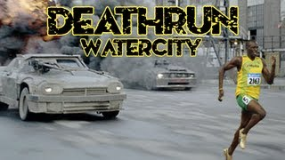 Cod 4 Mods: Death Run on Watercity (Live Commentary/Gameplay)