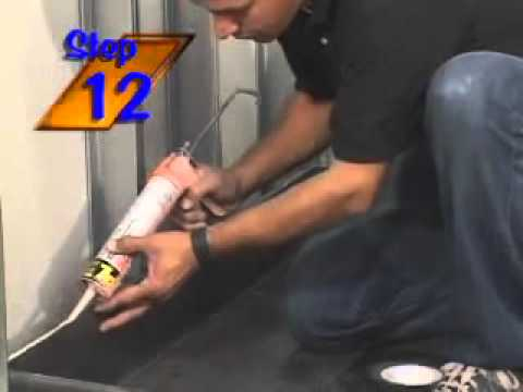 Tile Redi Shower Pan Installation Video