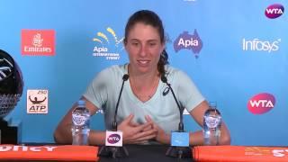Johanna Konta 2017 Apia International Sydney Final Press Conference