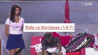 Hot funny moments - funny video tennis - funny rafael nadal 2014