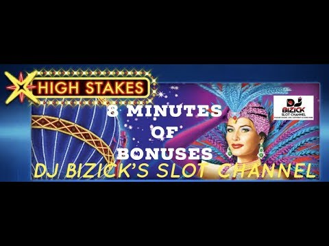 ~$ 8 MINUTES OF Lightning Link $~ HIGH STAKES SLOT MACHINE ~ MOTORCITY CASINO