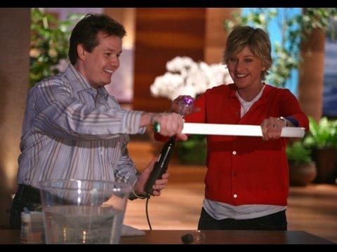 Steve Spangler on The Ellen Show February 2008