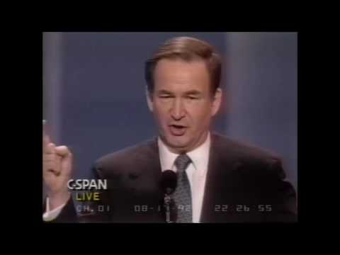 "Pat Buchanan ""Cultural War"" speech"