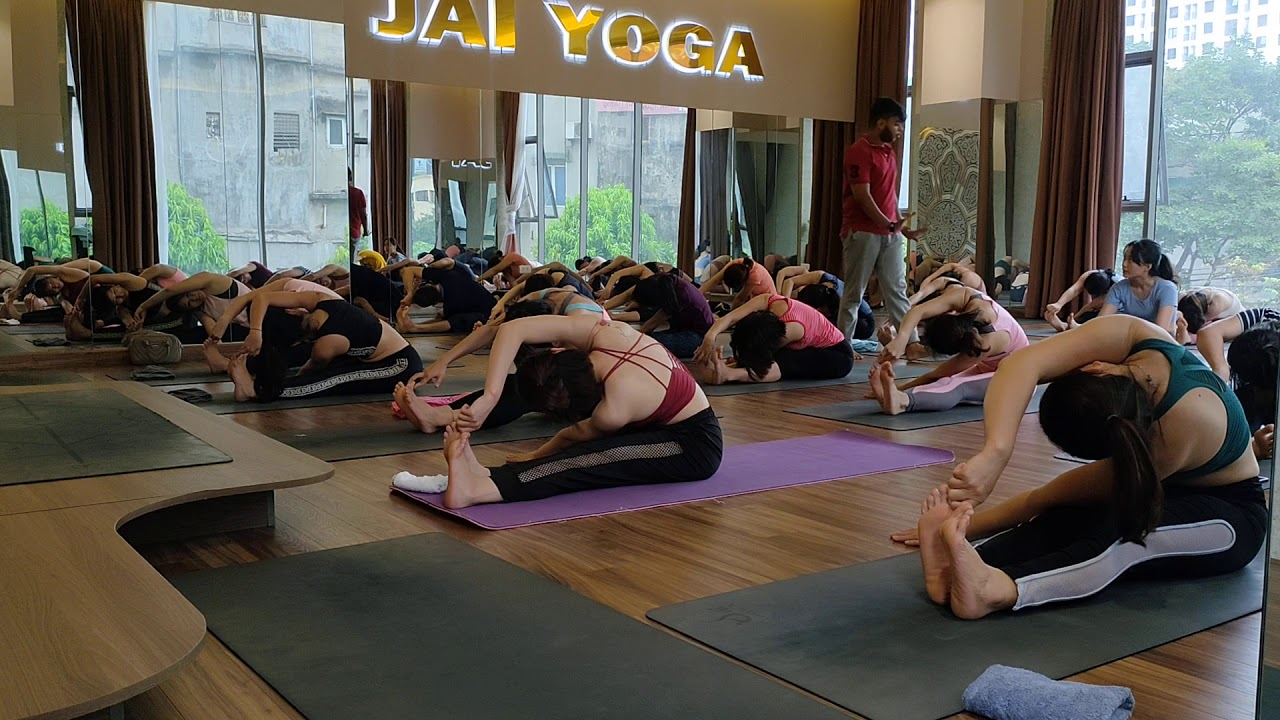 1 hour leg activation series   Morning Yoga Class   jai ...