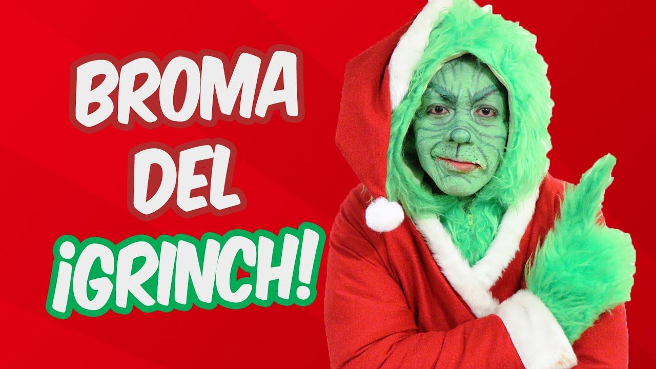 Broma del Grinch | Bromas | Bromas en la Calle | SKabeche y Alex Brown ...