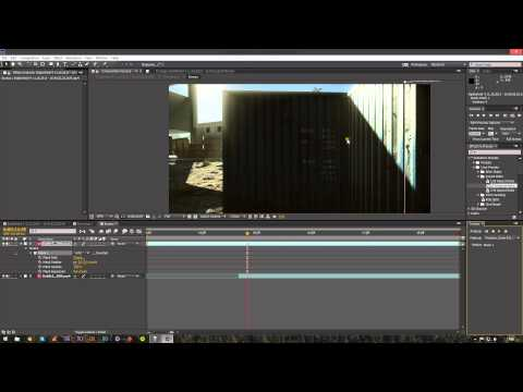 Tutorial - Adobe Affter Effects CC - Track Mask