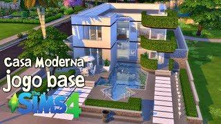 JOGO BASE - Construindo uma Casa Moderna│The SIms 4 (Speed Build)