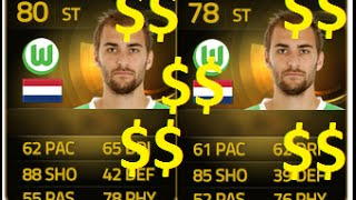 FIFA 15 Ultimate Team Android/iOS Trading Method 2: Upgraded Players