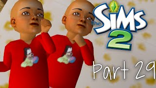 let s play the sims 2 part 29   life with twins
