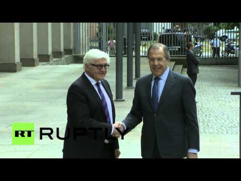 Germany: Lavrov arrives for Ukraine crisis talks