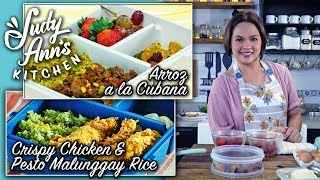 [Judy Ann's Kitchen 14] Ep 1 : Arroz A La Cubana and Crispy Chicken & Pesto Malunggay Rice