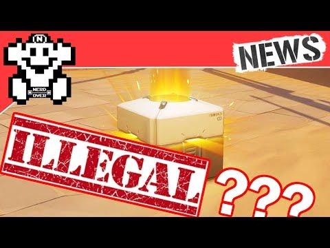 Lootboxen bald illegal? / Neuer Super Mario Film kommt! - NerdNews #194