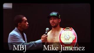 The Fightlete Report: Mike Jimenez & Michael Batts Jr. (MBJ)