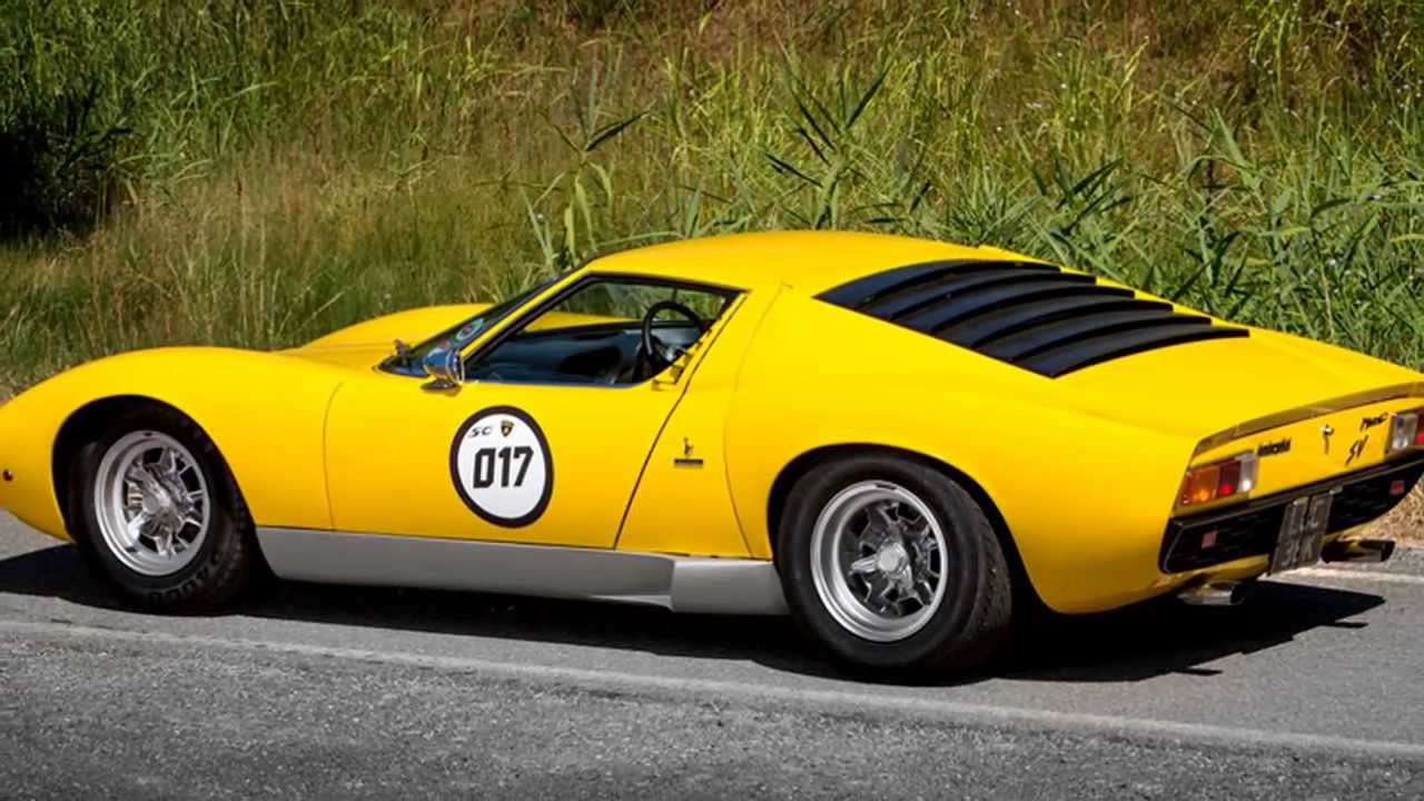 Lamborghini Miura Sv Coupe For Sale At Talacrest Youtube