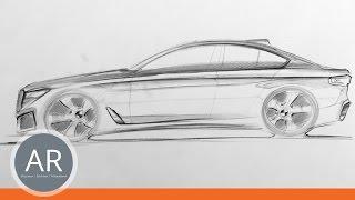Autos schnell zeichnen. Car Design. Transportation design. Mappenvorbereitungskurs.