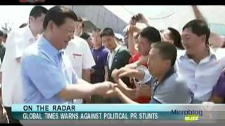 Global Times warns against political PR stunts -Microblog Buzz - January 1,2014 - BONTV China