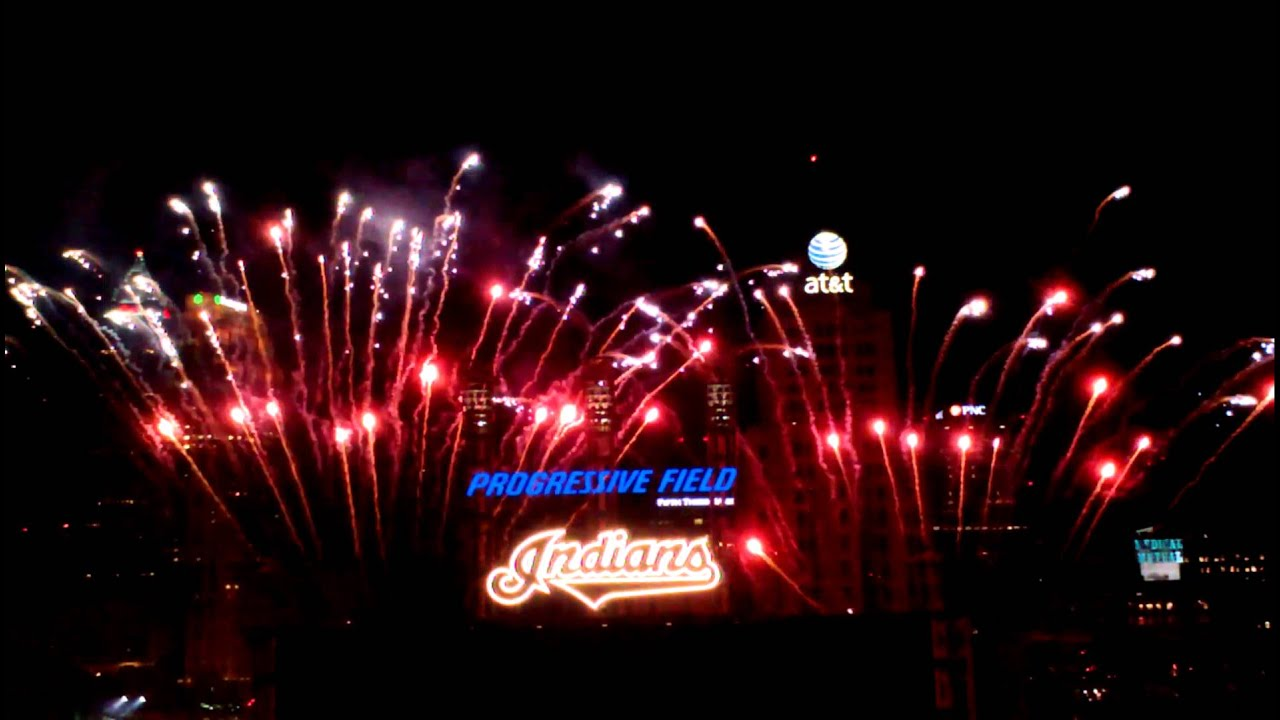 Cleveland Indians fireworks May 17th, 2013 - YouTube