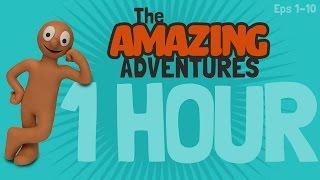 Kijk Amazing adventures - 1 uur compilatie filmpje