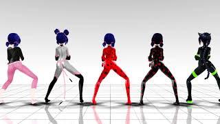 MMD Miraculous -Ladybug Bla Bla Bla
