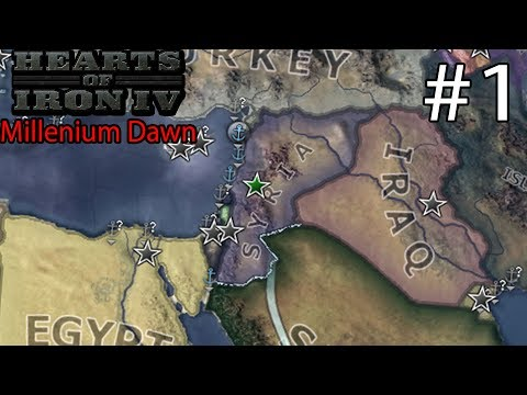 Hearts of Iron IV: Millennium Dawn Syria Campaign #1