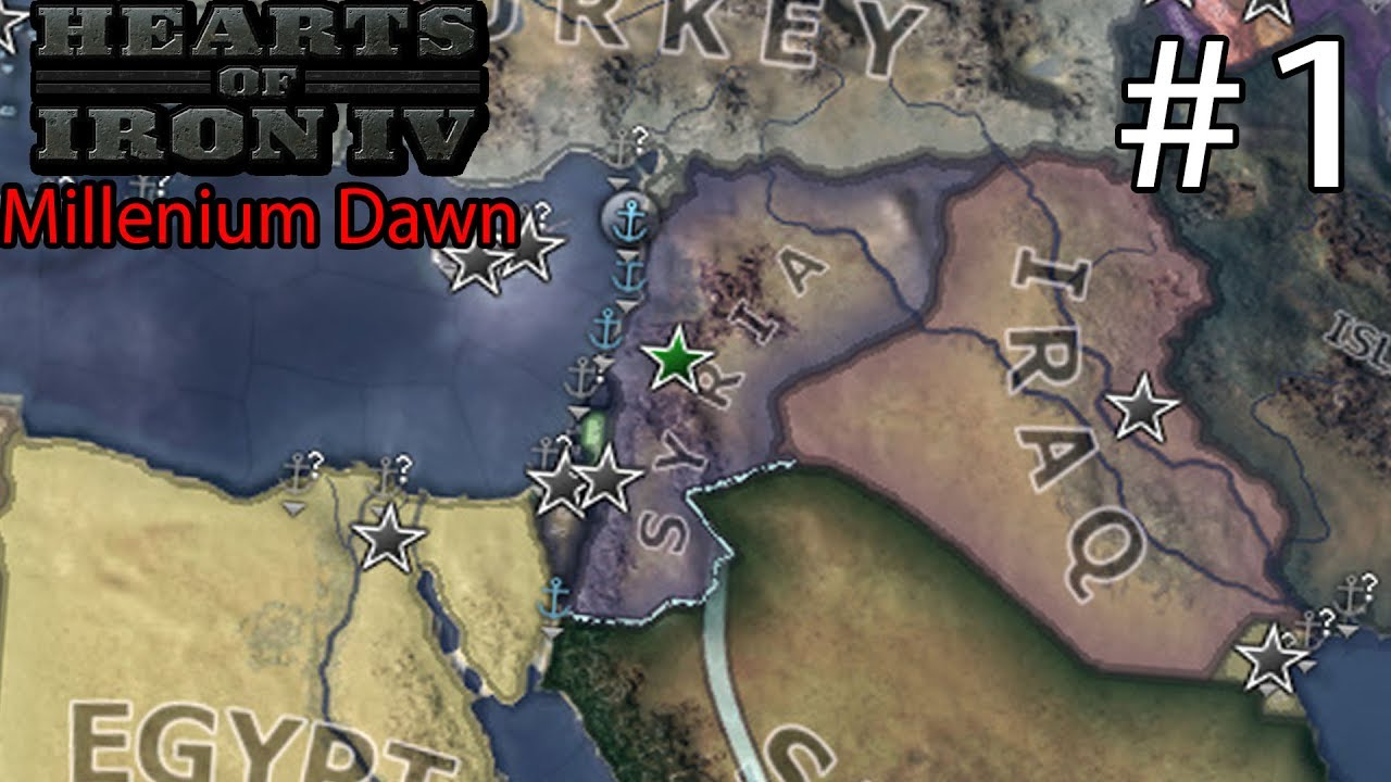 Hearts of Iron IV: Millennium Dawn Syria Campaign #1