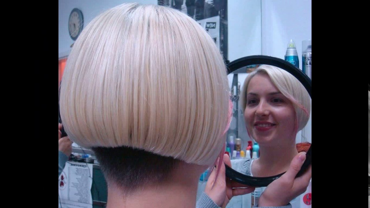 Short Nape Bob Haircuts