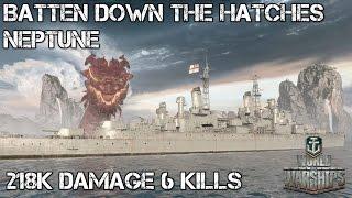 World of Warships - Batten down the hatches! - Neptune