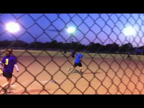 Correctional Week Softball Carlos Viera - double