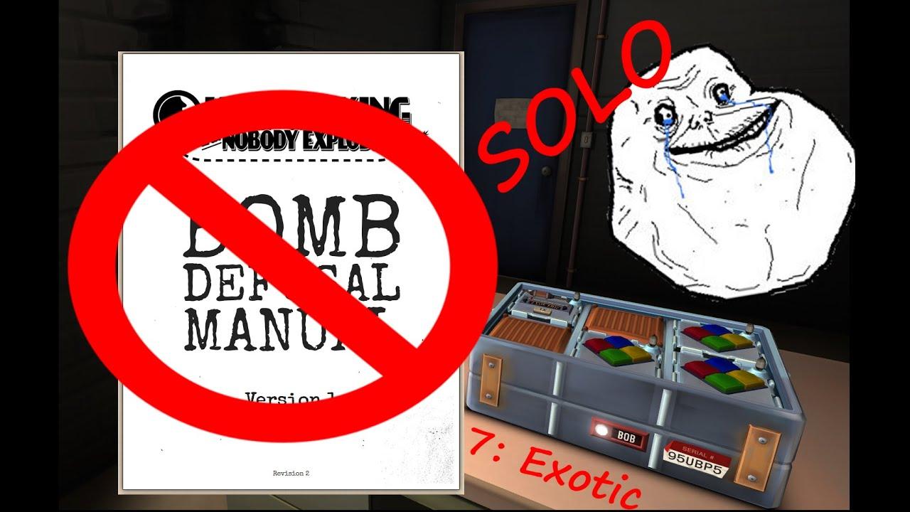 Keep talking and nobody explodes manual español