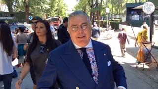 Ambasciatore Pupi D'Angieri – Intervista da Piazza Di Siena 85° CSIO Roma 2017