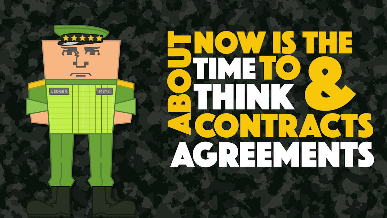General Ledger Briefing: Contracts & Agreements