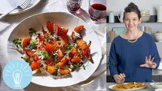 Yotam Ottolenghi's Squash With Chile Yogurt and Cilantro Sauce | Genius Recipes