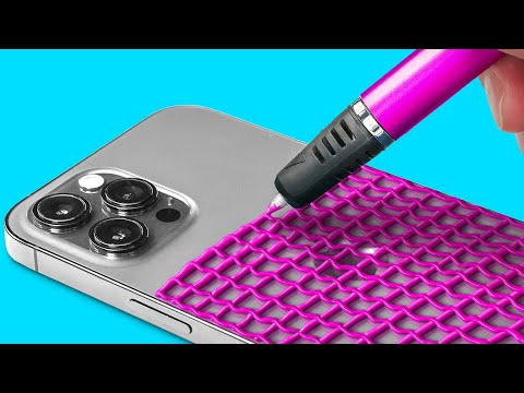 AWESOME 3D PEN HACKS || Cool Crafts And Easy DIY Ideas by 123 GO!