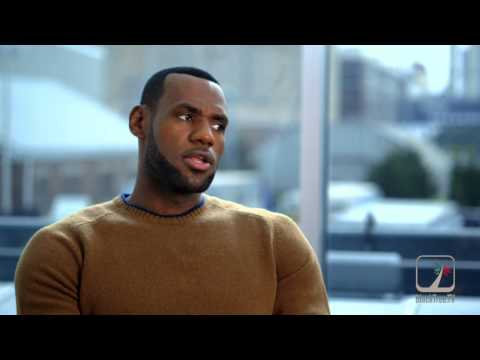 Lebron James interview Trainwreck