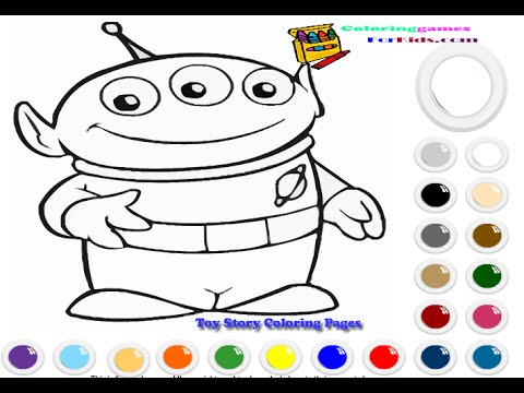 The Toy Story Games for Kids - The Toy Story Coloring ...