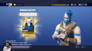 Using RAGNAROK Viking Dark Outsider SAVE WORLD Globetrotter Fortnite