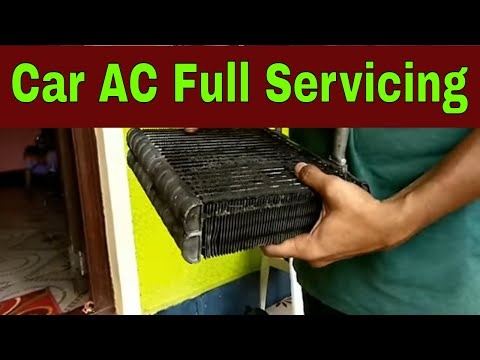 car ac full servicing