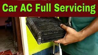 car ac full servicing