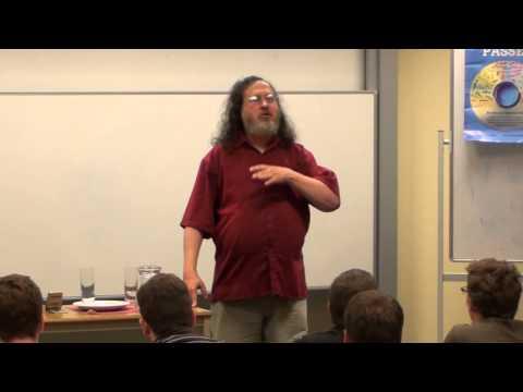 Richard Stallman - 2012-09-28 - Le logiciel libre et votre liberté (à la HEB-ESI et en français)