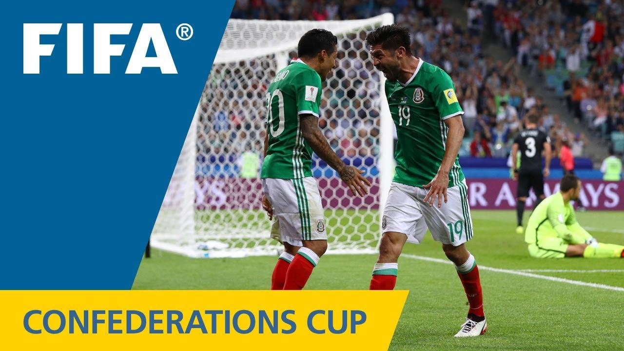 Мексика - Новая Зеландия 2:1 видео