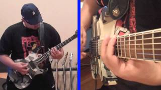 Fear Factory - Demanufacture guitar cover by Freddypipes ESP M-II Urban Camo